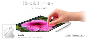 Apple Facebook Cover Photo