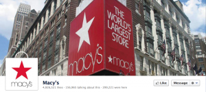Macy&#039;s Facebook Cover Photo