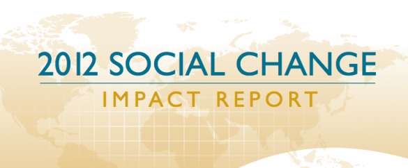 2012 social change