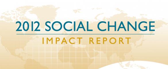 2012 social change
