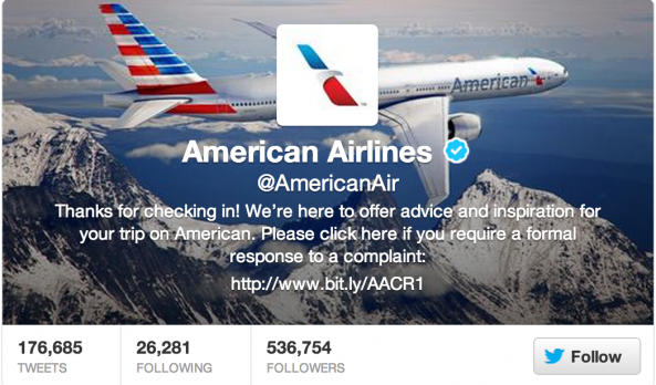 American Airlines Twitter Apology Spree