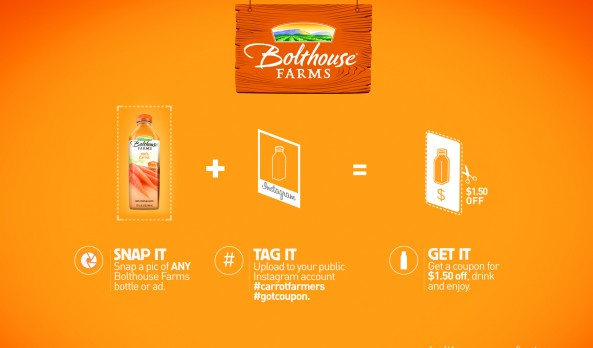"""Snap it, Tag It and Get It"" with Instagram for a Bolthouse Farms Coupon"