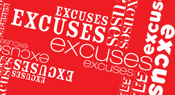 6 Tips to Overcome Excuses