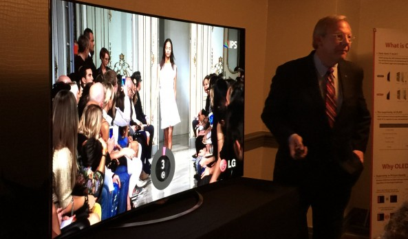 LG's Chicago Reveal Of New OLED 4k Ultra HD TV's