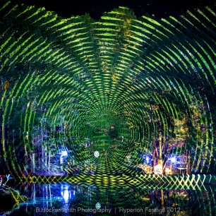 Spiral Pond Projection